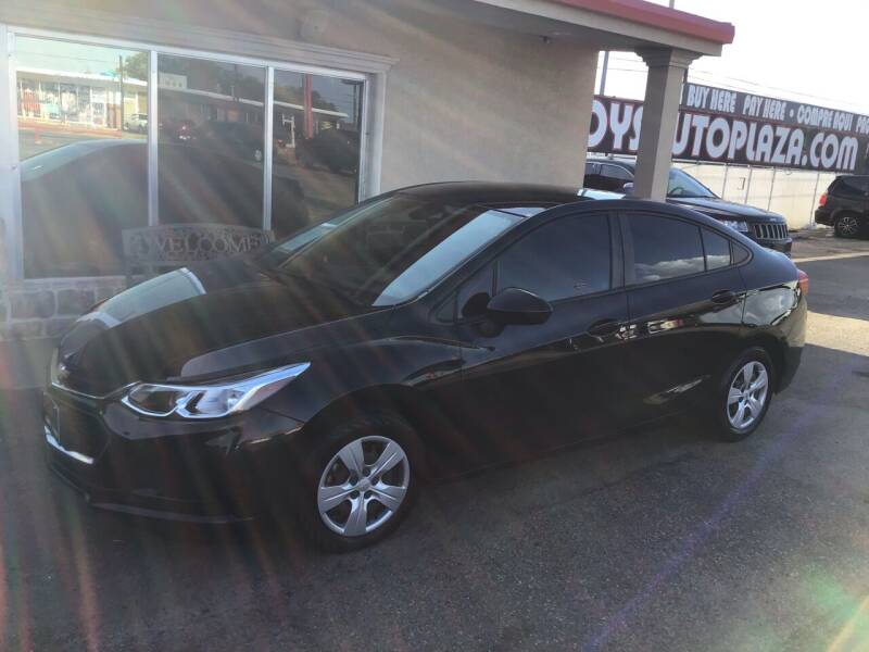 2018 Chevrolet Cruze for sale at Roy's Auto Plaza 2 in Amarillo TX