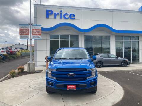 2019 Ford F-150 for sale at Price Honda in McMinnville in Mcminnville OR