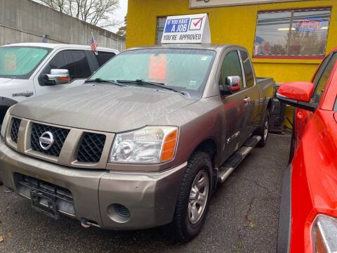 2006 Nissan Titan for sale at White River Auto Sales in New Rochelle NY