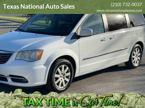 2014 Chrysler Town and Country for sale at Texas National Auto Sales in San Antonio TX