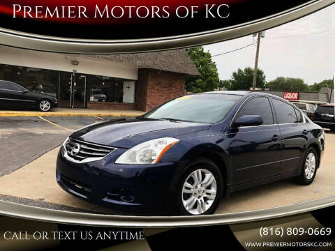 2011 Nissan Altima for sale at Premier Motors of KC in Kansas City MO