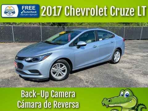 2017 Chevrolet Cruze for sale at LIQUIDATORS in Houston TX