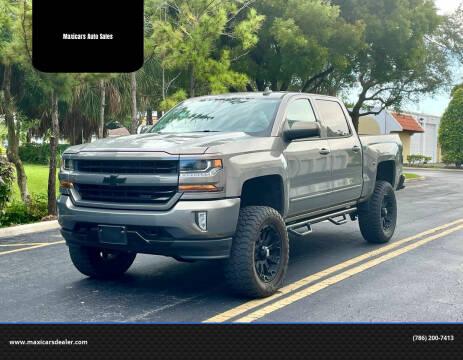 2017 Chevrolet Silverado 1500 for sale at Maxicars Auto Sales in West Park FL