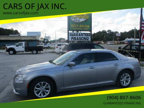 2015 Chrysler 300 for sale at CARS OF JAX INC. in Jacksonville FL