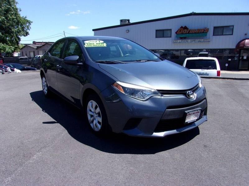 2014 Toyota Corolla for sale at Dorman's Auto Center inc. in Pawtucket RI