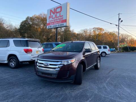 2011 Ford Edge for sale at No Full Coverage Auto Sales in Austell GA