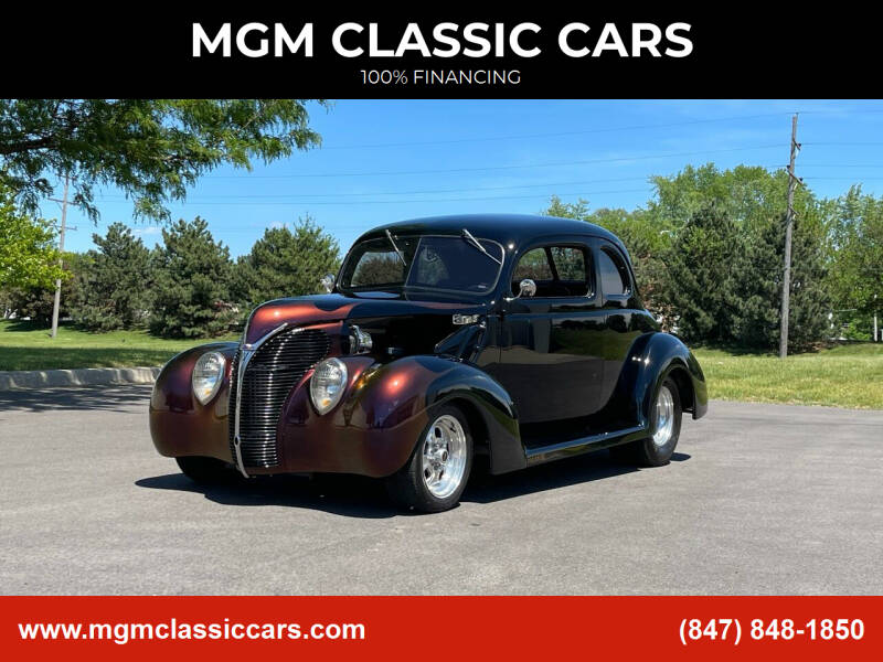 1938 Ford Deluxe for sale at MGM CLASSIC CARS in Addison IL