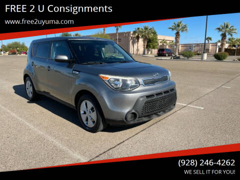 2015 Kia Soul for sale at FREE 2 U Consignments in Yuma AZ