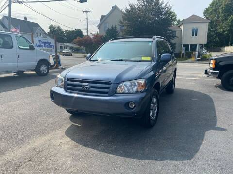 2004 Toyota Highlander for sale at Auto Gallery in Taunton MA