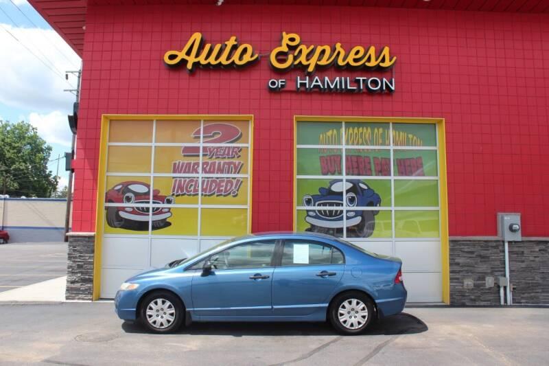 2011 Honda Civic for sale at AUTO EXPRESS OF HAMILTON LLC in Hamilton OH