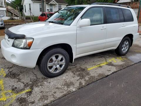 2005 Toyota Highlander for sale at Street Side Auto Sales in Independence MO