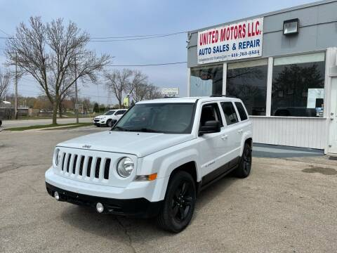 2016 Jeep Patriot for sale at United Motors LLC in Saint Francis WI