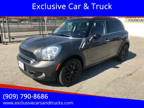 2013 MINI Countryman for sale at Exclusive Car & Truck in Yucaipa CA