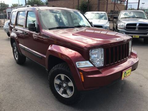 2008 Jeep Liberty for sale at New Wave Auto Brokers & Sales in Denver CO
