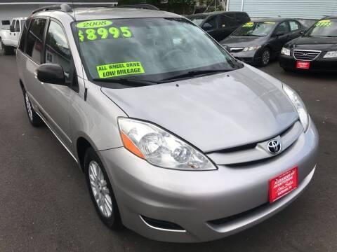 2008 Toyota Sienna for sale at Alexander Antkowiak Auto Sales in Hatboro PA