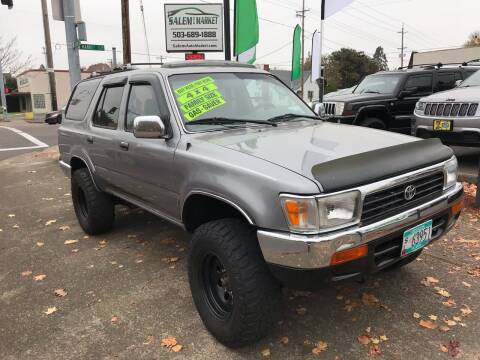 1994 Toyota 4Runner for sale at Salem Auto Market in Salem OR
