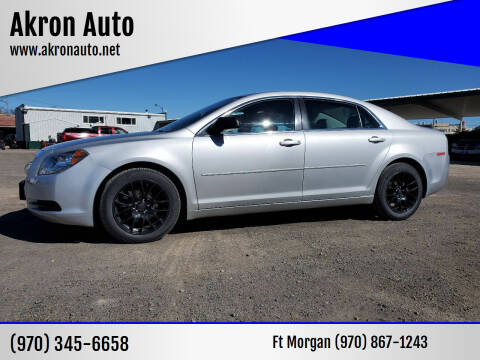 2012 Chevrolet Malibu for sale at Akron Auto - Fort Morgan in Fort Morgan CO