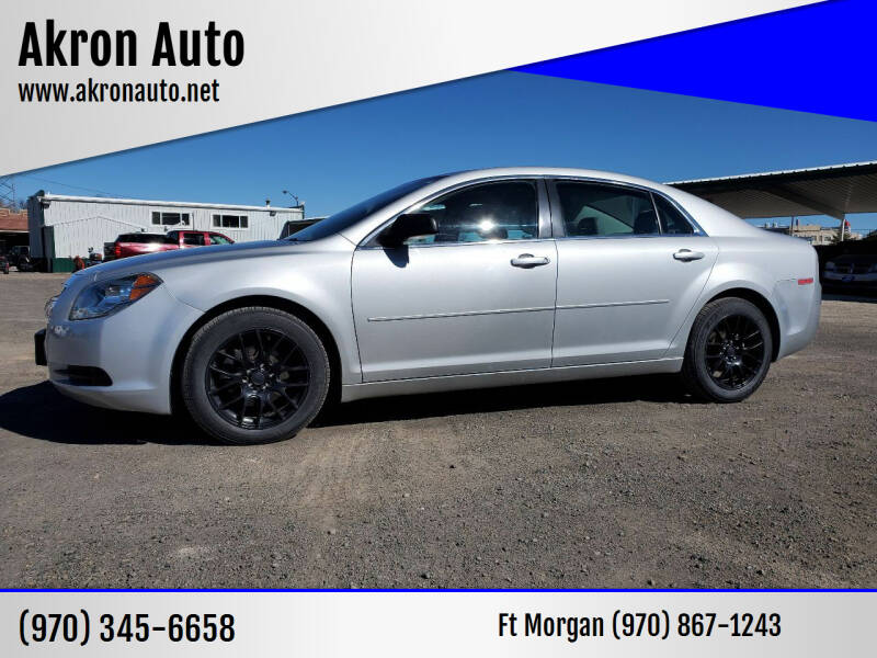 2012 Chevrolet Malibu for sale at Akron Auto in Akron CO