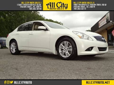2011 Infiniti G37 Sedan for sale at All City Auto Sales II in Indian Trail NC