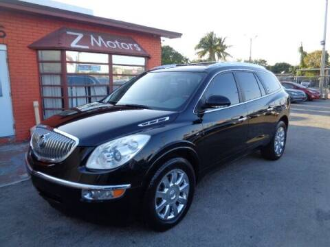 2011 Buick Enclave for sale at Z MOTORS INC in Hollywood FL