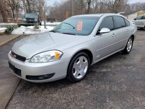 2008 Chevrolet Impala for sale at Murdock Used Cars in Niles MI