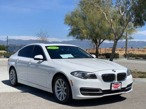 2014 BMW 5 Series for sale at Esquivel Auto Depot in Rialto CA