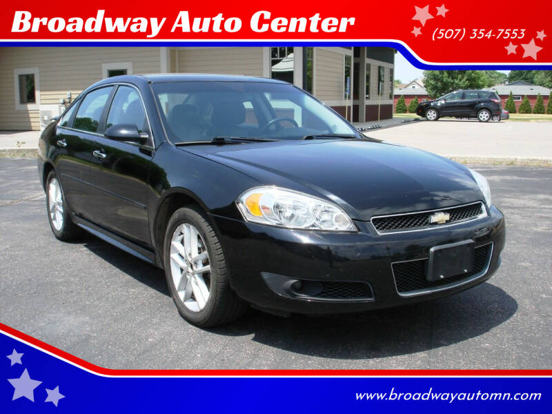 2012 Chevrolet Impala for sale at Broadway Auto Center in New Ulm MN