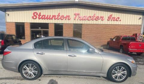 2011 Hyundai Genesis for sale at STAUNTON TRACTOR INC in Staunton VA