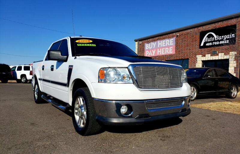 2008 Ford F-150 for sale at AUTO BARGAIN, INC. #2 in Oklahoma City OK