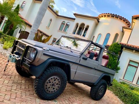 2019 Mercedes-Benz G-Class for sale at Mirabella Motors in Tampa FL