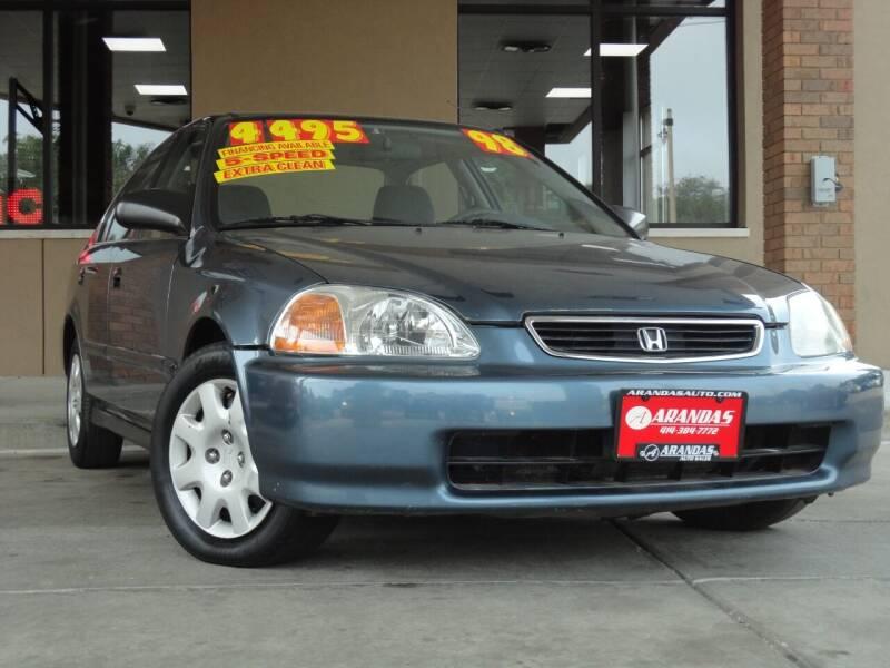 1998 Honda Civic for sale at Arandas Auto Sales in Milwaukee WI