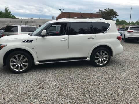 2014 Infiniti QX80 for sale at Renaissance Auto Network in Warrensville Heights OH