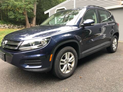 2016 Volkswagen Tiguan for sale at Beverly Farms Motors in Beverly MA