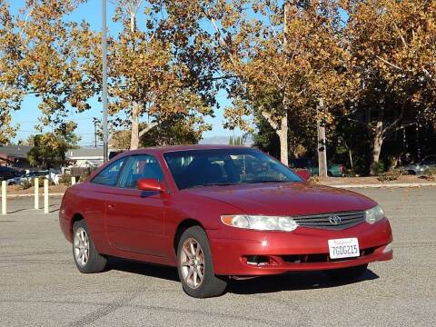 2002 Toyota Camry Solara for sale at Crow`s Auto Sales in San Jose CA