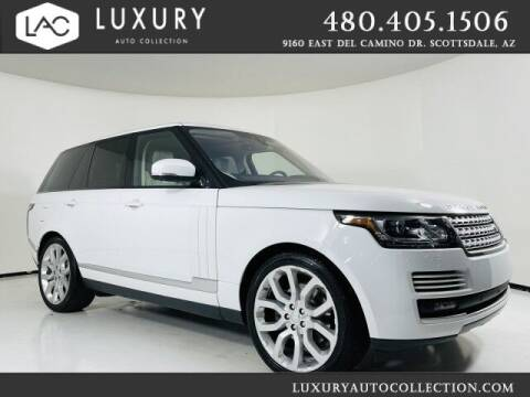 2017 Land Rover Range Rover for sale at Luxury Auto Collection in Scottsdale AZ