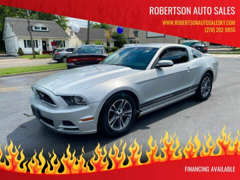 2014 Ford Mustang for sale at ROBERTSON AUTO SALES in Bowling Green KY