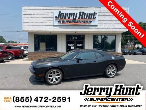 2016 Dodge Challenger for sale at Jerry Hunt Supercenter in Lexington NC