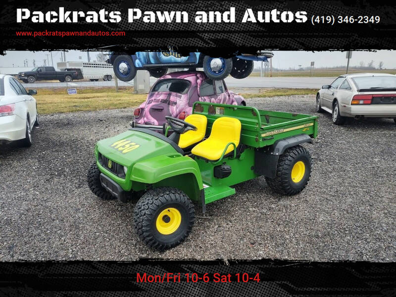 2005 John Deere Gator TS for sale at Packrats Pawn and Autos in Defiance OH