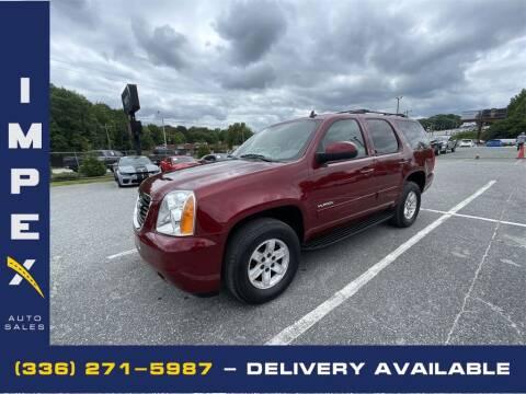 2010 GMC Yukon for sale at Impex Auto Sales in Greensboro NC