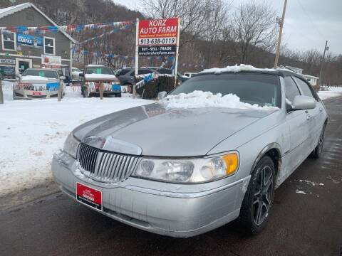 2000 Lincoln Town Car for sale at Korz Auto Farm in Kansas City KS