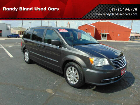 2015 Chrysler Town and Country for sale at Randy Bland Used Cars in Nevada MO