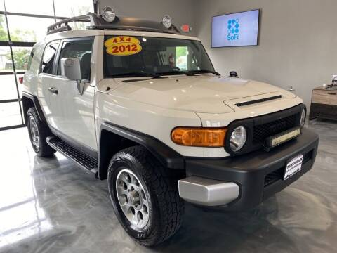 2012 Toyota FJ Cruiser for sale at Crossroads Car & Truck in Milford OH