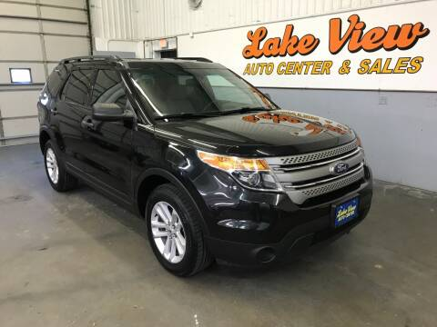 2015 Ford Explorer for sale at Lake View Auto Center and Sales in Oshkosh WI