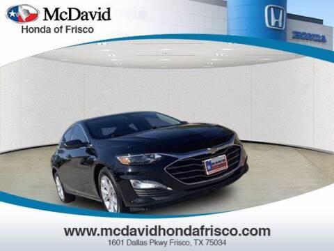 2020 Chevrolet Malibu for sale at DAVID McDAVID HONDA OF IRVING in Irving TX