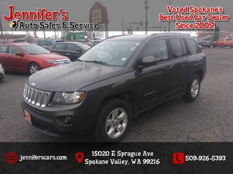 2016 Jeep Compass for sale at Jennifer's Auto Sales in Spokane Valley WA