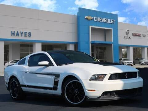 2012 Ford Mustang for sale at HAYES CHEVROLET Buick GMC Cadillac Inc in Alto GA