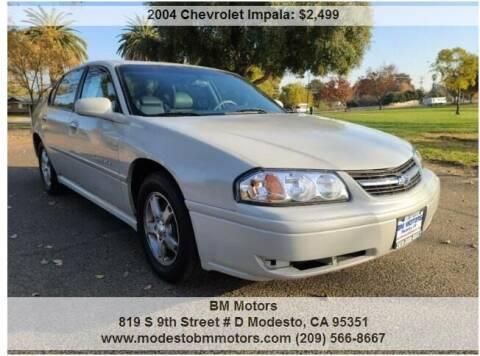 2004 Chevrolet Impala for sale at BM Motors in Modesto CA