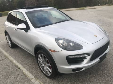 2012 Porsche Cayenne for sale at R Garage Auto Sales in Decatur GA