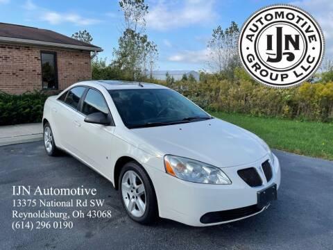 2008 Pontiac G6 for sale at IJN Automotive Group LLC in Reynoldsburg OH