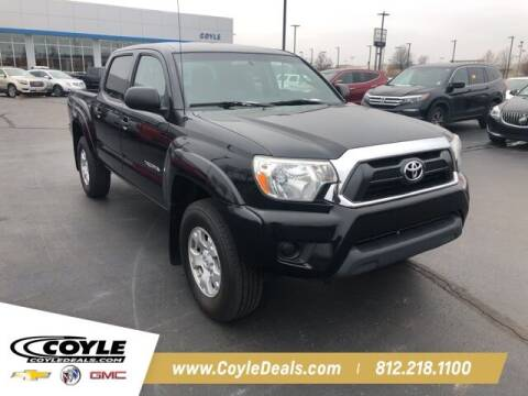 2015 Toyota Tacoma for sale at COYLE GM - COYLE NISSAN - Coyle Nissan in Clarksville IN